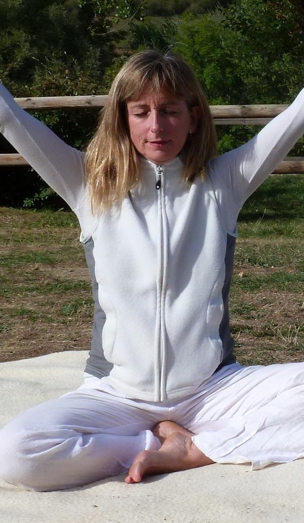 un yoga juste pour soi sur le bassin d'arcachon